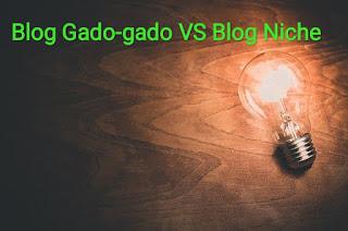 blog gado - gado VS Blog Niche ( blog satu tema ) mana yang lebih unggul