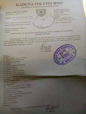 kadpoly registration deadline