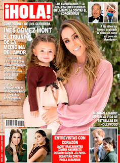 Inés Gómez Mont en la portada de la revista Hola México
