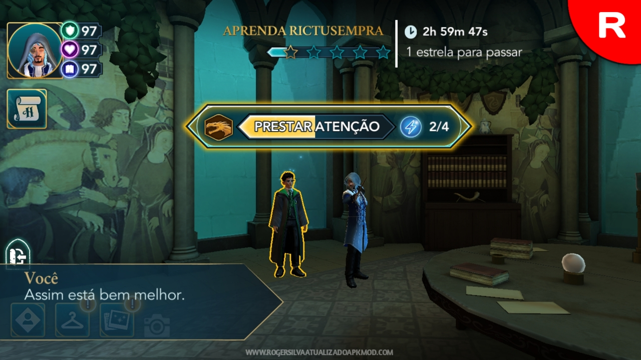 Harry Potter pratique Feitiços