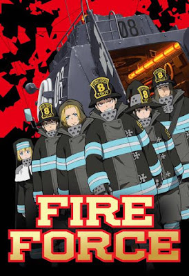 Fire Force Anime Key Visual