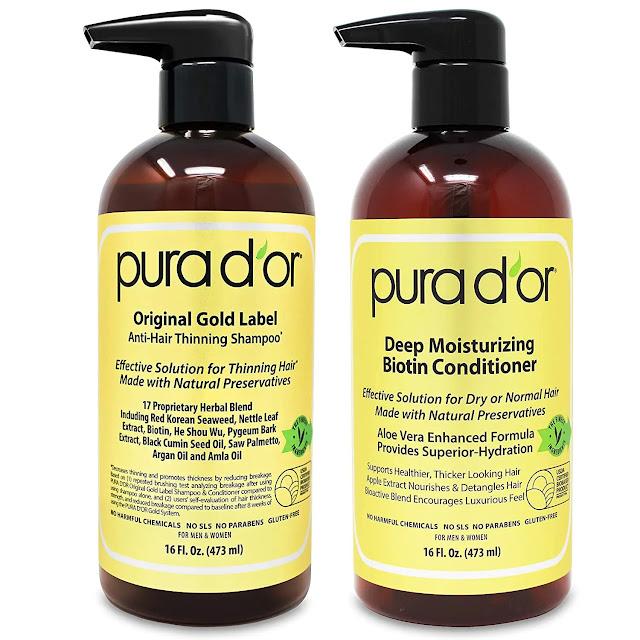 1- PURA D'OR Biotin Original Gold Label Anti-Thinning