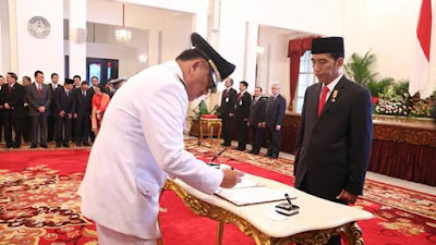 Harapan Masyarakat Lembeh Bagi Olly-Steven Usai Dilantik Presiden Joko Widodo
