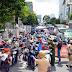 TP Hồ Chí Minh: Người dân vẫn đổ ra đường gây ùn tắc tại các chốt kiểm soát