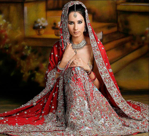contoh baju muslim gaya india