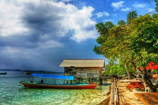 Destinasi Wisata Lampung Selatan Pantai Mutun