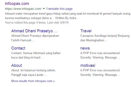 Cara Agar Blog Terindex Google Kurang Dari 5 Menit