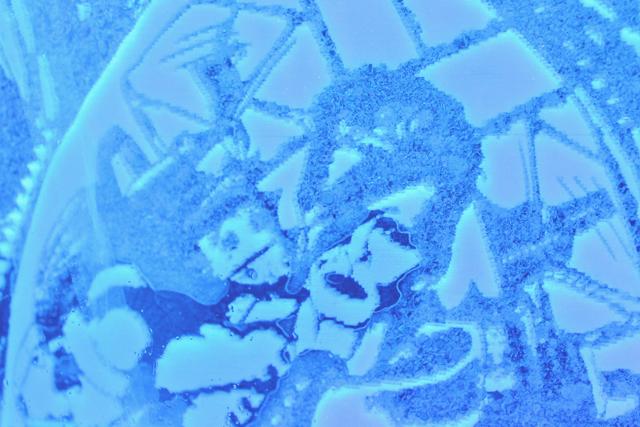 David Bowie Ice Sculpture