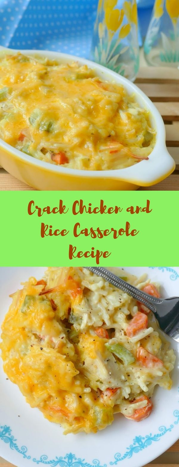 Crack Chicken and Rice Casserole Recipe