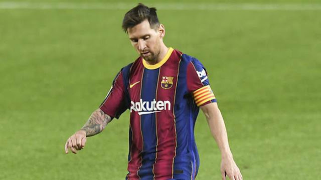 """'Messi will be pushed out of Barcelona if he doesn't accept pay cut'- Barcelona presidential candidate Rousard"""