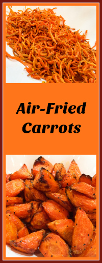 AIR-FRIED CARROTS WITH HONEY