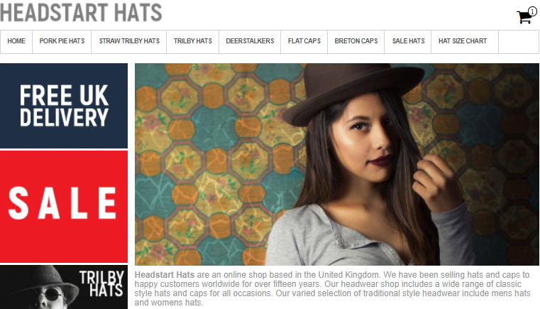 edb503215f7 Headstart Hats New Look Website
