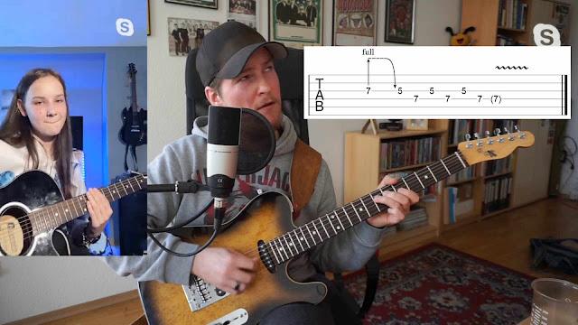 Sebastian Bluschke Gitarrenunterricht per Skype