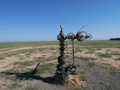 abandoned gas well leaking methane