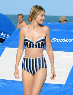 Gigi Hadid's Favorite Swimsuit Style Is Hands Down the Most Flattering