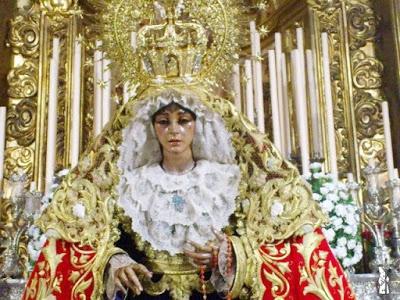 Curro Claros realiza el diseño del Estandarte de la Virgen de la O