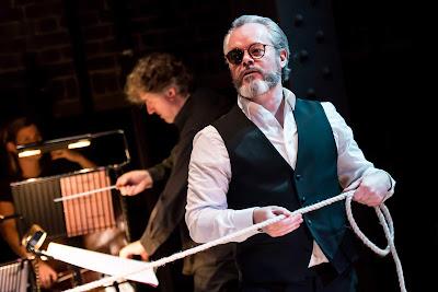 Wagner: Das Rheingold - Peter Selwyn (conductor), Paul Carey Jones (Wotan) - Grimeborn Festival (Photo Lidia Crisafulli)