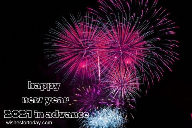 Happy new year 2021 in advance Images for family
