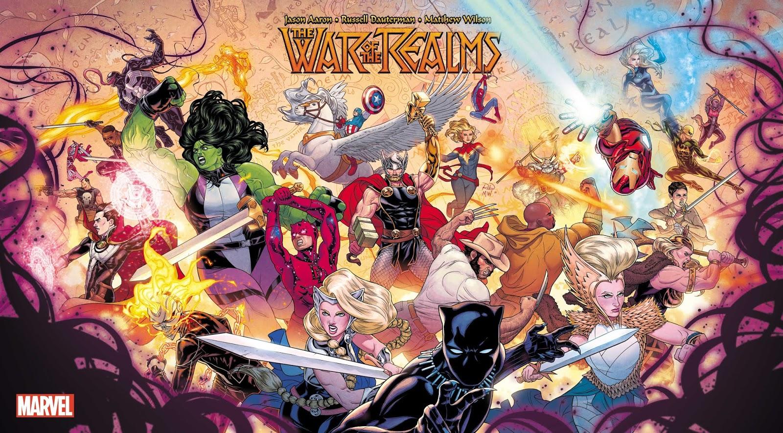 Resultado de imagem para marvel616 guerra dos reinos