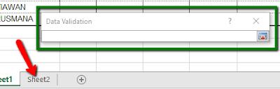 Cara cepat input Data pada Excel