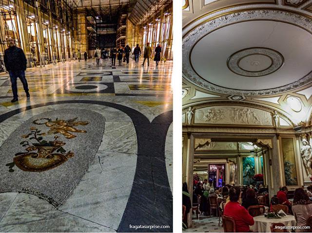 Nápoles: Galleria Umberto I e Caffè Gambrinus
