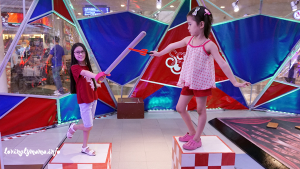Science Circus - Robinsons Place Bacolod - The Science Museum - Big and Small Illusion