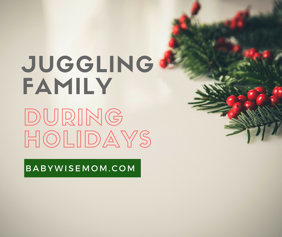How To Juggle Extended Family During Holidays