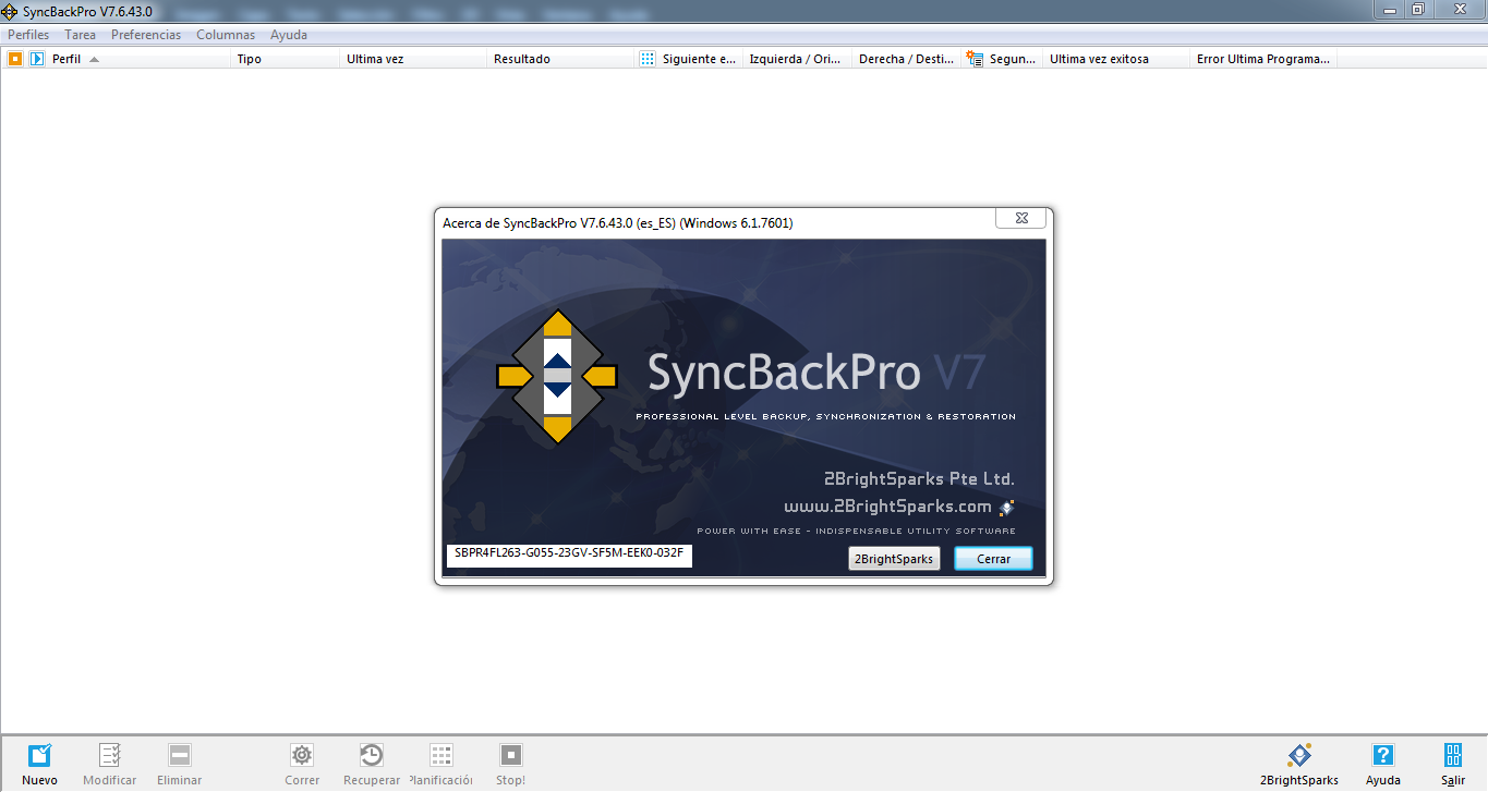 2BrightSparks SyncBackPro 9.3.4.0 poster box cover