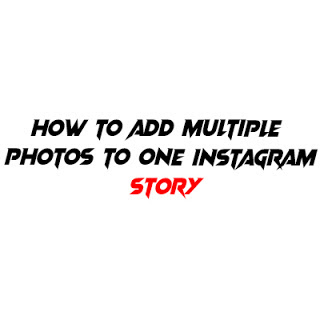 How to share multiple photos on Instagram story