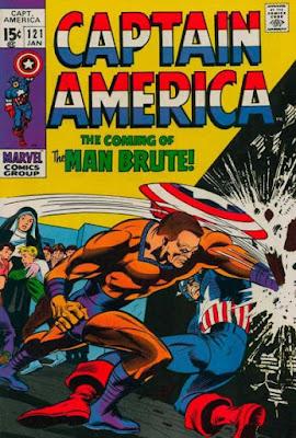 Captain America #121, the Man Brute