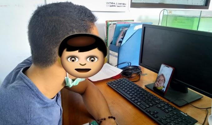 Pandemi, Kunjungan di Andikpas LPKA Tangerang dengan Cara Video Call