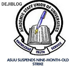 BREAKING: ASUU Suspends Strike