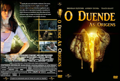 Filme O Duende - As Origens (Leprechaun - Origins) DVD Capa