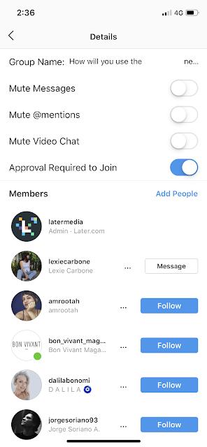 Cara Menghapus Seseorang dari Obrolan Grup Instagram