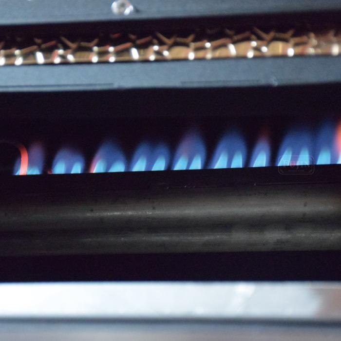 雙排燃燒器專利,火力強且均勻