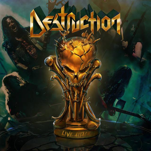 """Ο δίσκος των Destruction """"Live Attack"""""""