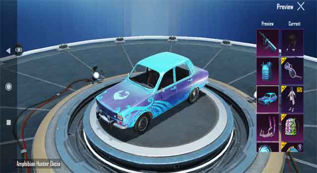 Pubg mobile redeem code se Dacia skin Kaise Milega