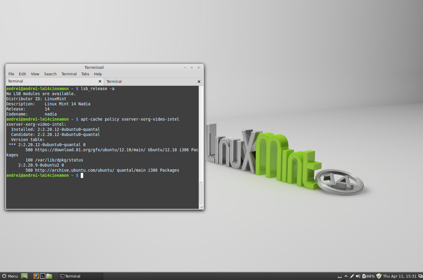 How To Use The Intel Linux Graphics Drivers Repository In