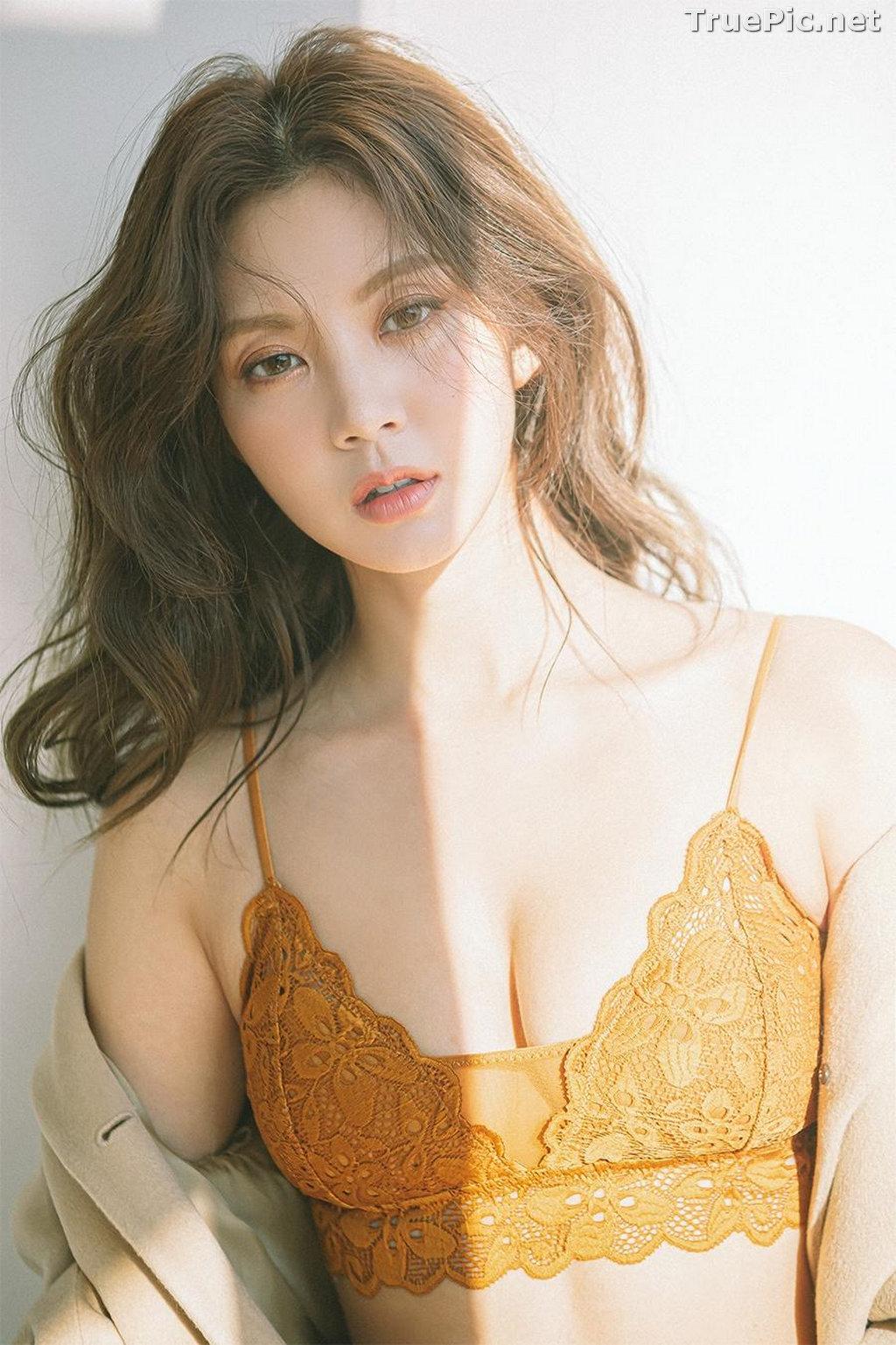 Image Korean Fashion Model – Lee Chae Eun (이채은) – Come On Vincent Lingerie #10 - TruePic.net - Picture-4