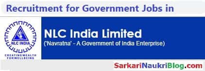 Government Jobs NLC India