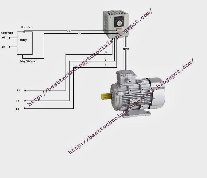Ls Inverter Basic Connection System For Drive 3Phase Motor