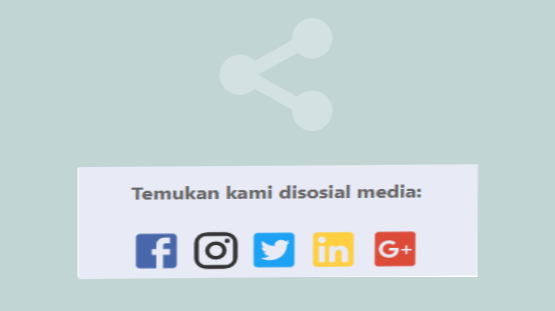 MMemasang Tombol Share Terbaru Ala Kompi Ajaib di Sidebar Blog