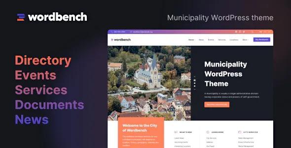 Best Municipality WordPress Theme