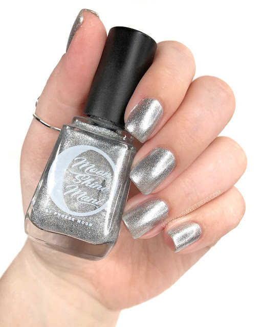 Moon Shine Mani Never Give Up, Never Surrender! 25 Sweetpeas