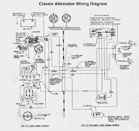 Electrical Winding Wiring Diagrams Old Car Alternator Wiring Diagram