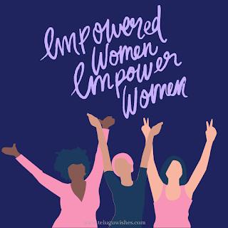 empowered woman empower women Women's Day Instagram Posts