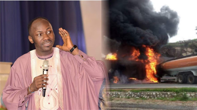 Apostle Johnson Suleman distanced himself from trending audio prophesy