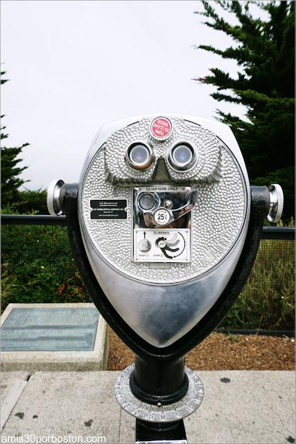 Telescopio de Monedas de la Torre Coit en San Francisco