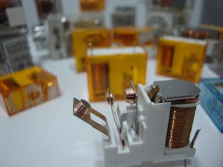 reles de ar condicionado com contatos de prata