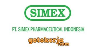 Lowongan Kerja PT Simex Pharmaceutical Indonesia